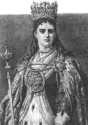Królowa Jadwiga Andegaweńska
